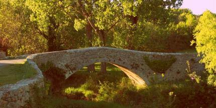 märchenhafte Brücke