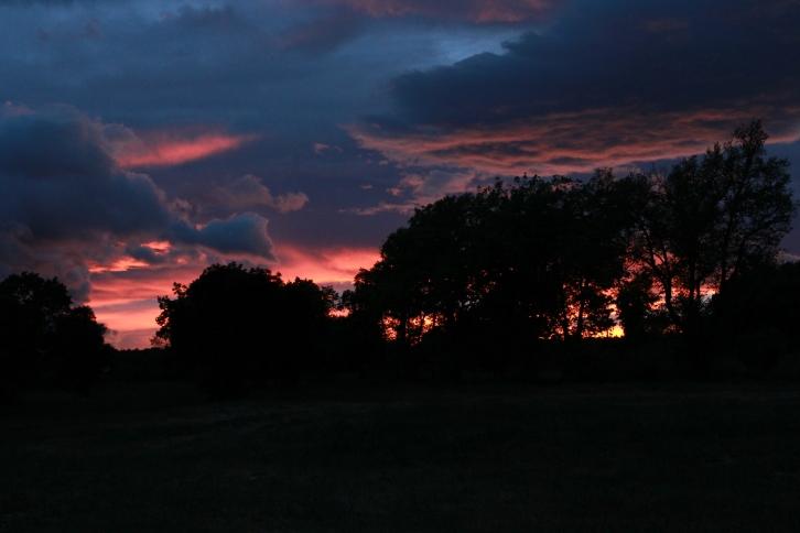 Letzter Sonnenuntergang Céreste