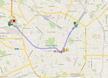 Mailand Ubahn