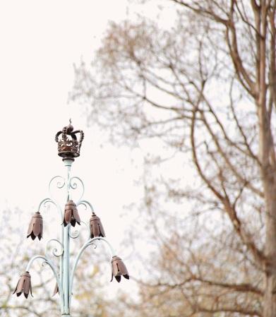 Überall kleine Kronen <3 - hier im St. James Park