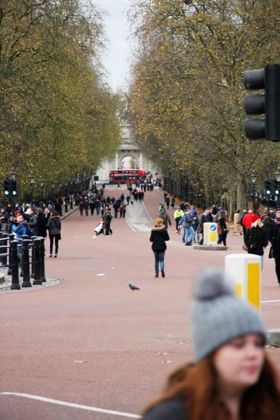 Einfahrt Buckingham Palace