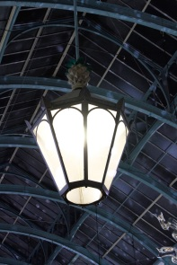 Lampe in Covent Garden