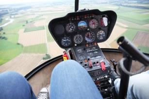 Ich glaube, der Flugschein für Helikopter steht als nächstes auf meiner to do