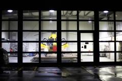 Hangar von Christoph 31 auf dem Charité Campus Benjamin Franklin