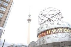 Total überbelichtet, aber irgendwie fand ichs gut - Alexanderplatz Berlin