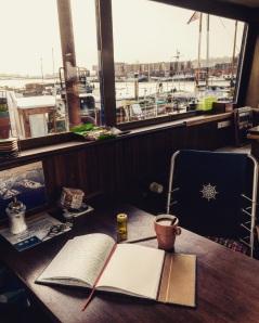 Morgenseiten & Kaffee - ein Traum in dieser Kullisse