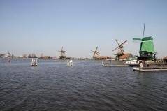 Zaanse Schans - zauberhafte Windmühlen