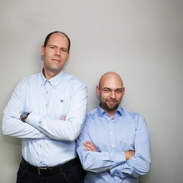Geschäftsführung (von links Jürgen Luhr, Felix Ruzzoli) LRX GmbH