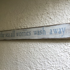 all worries wash away