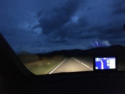 Morgens 04:00 Uhr auf dem Weg nach Uig