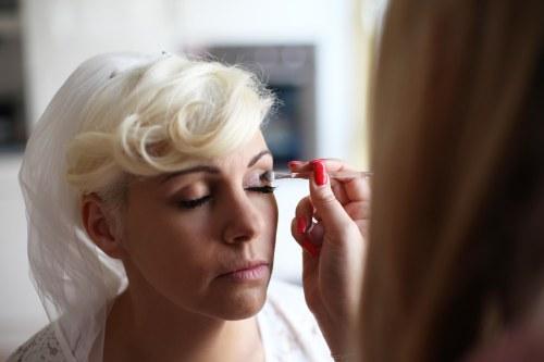 Getting ready Stephanie