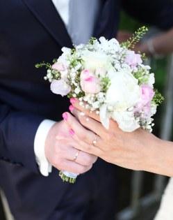 Zauberhafter Brautstrauß