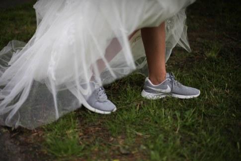 Fürs Shoooting gibts auch die Schuhe der Fo(o)tografin