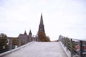 Münster aus dem Stadtgarten