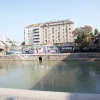 ...ein bisschen am Donaukanal entlang fahren